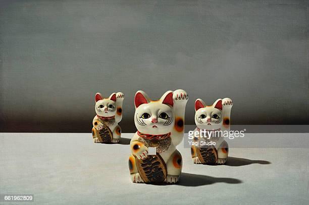 Conceptual image / Beckoning cat