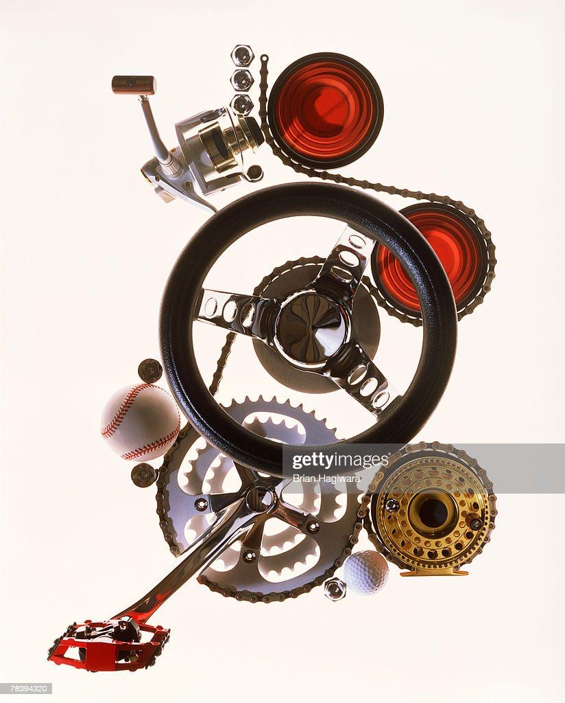 Conceptual machinery : Stock Photo
