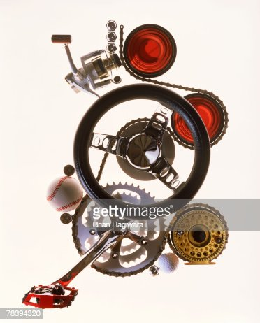 Conceptual machinery : Stock-Foto