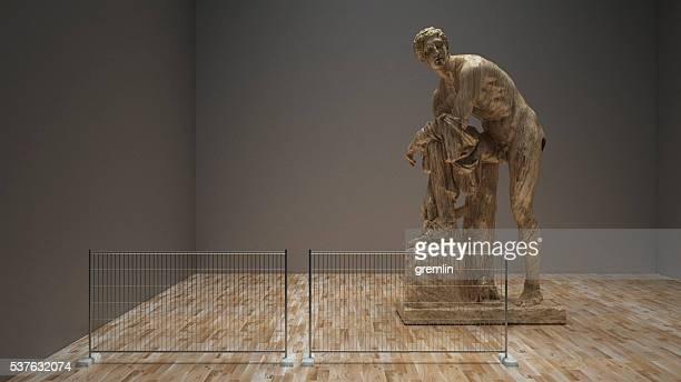 3D conceptual museum exhibit image