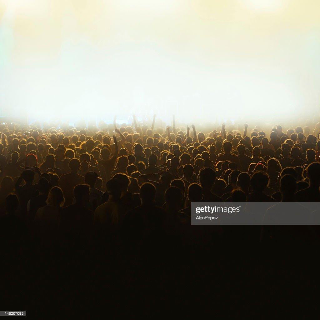 Concert crowd : Stock Photo