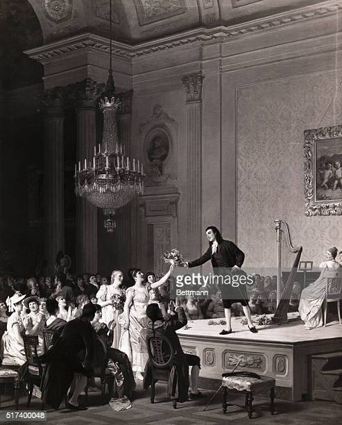 A concert given by Paganini 1804