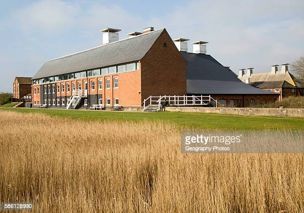 Concert Hall at Snape Maltings in converted industrial building Suffolk England UK