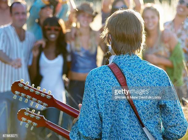 Concert in a field