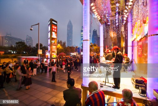 Concert in Renmin Square (People's Square)