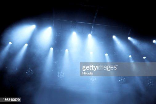 コンサートの夜景