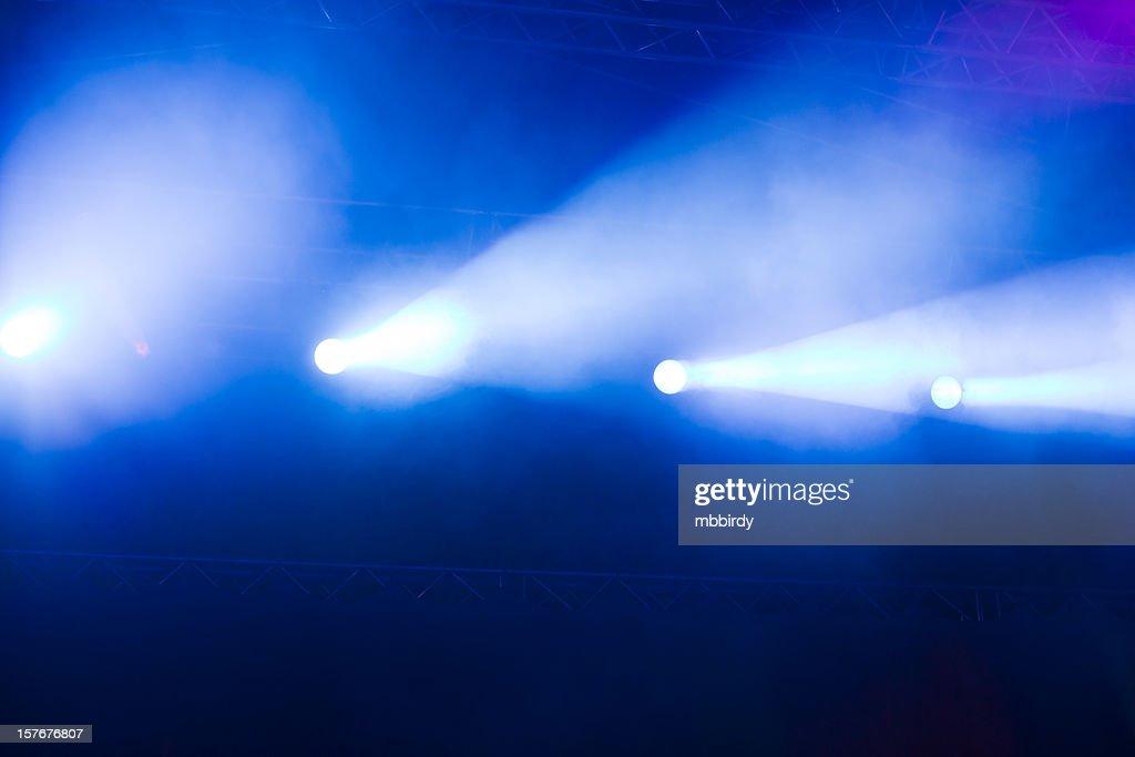 Concert lightshow : Stock Photo