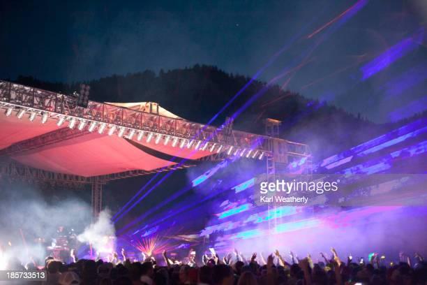 Concert music festival