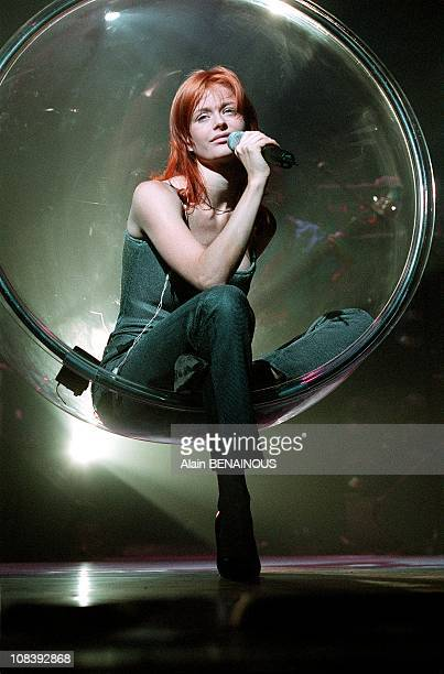 Concert Of Axelle Red in Zenith Paris in Paris France on November 03 1999