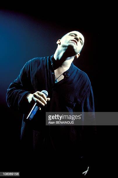 Concert of Eros Ramazotti in Paris France on December 10 1993