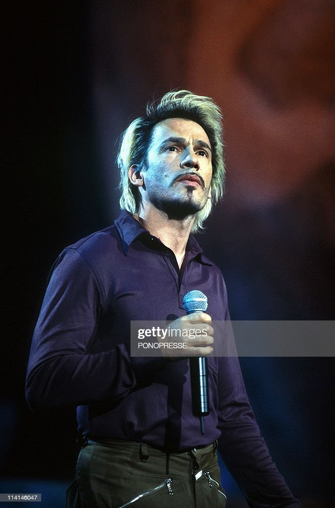 Concert of Florent Pagny In Montreal Canada In June 1998