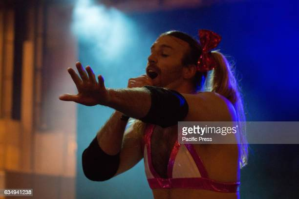 Concert of Ladybeard in Japan weekend that attended by hundreds of people Richard Magarey is an Australian stunt actor and under his bearded cross...