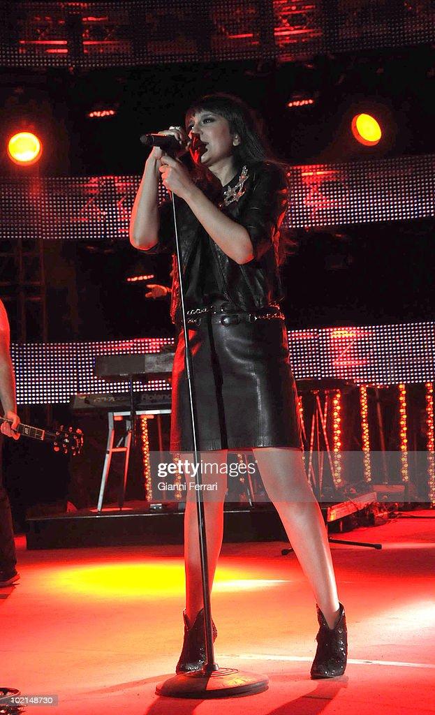 Concert of the singer Amaral , 12h September 2009, 'El Torreon ', Pozuelo de Alarcon, Madrid.