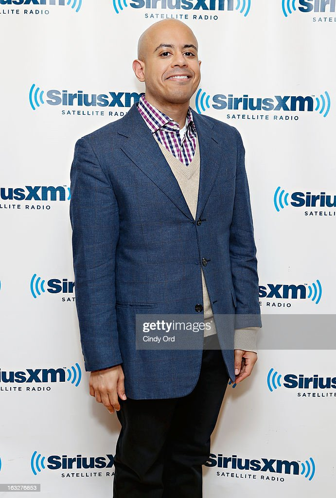 Concert pianist Stewart Goodyear visits the SiriusXM Studios on March 6, 2013 in New York City.