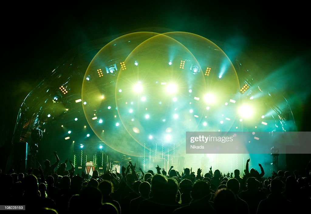 Concert Stage : Stock Photo