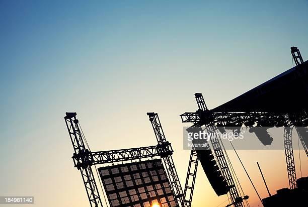 Konzert-Bühnenbild