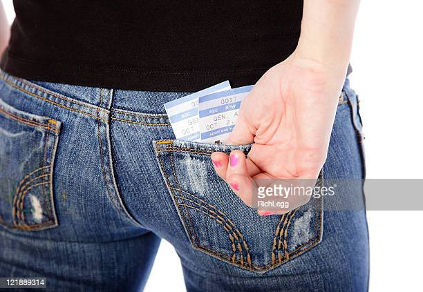 Concert Tickets in a Back Pocket