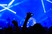 Concert visitor shoots video on a n action camera
