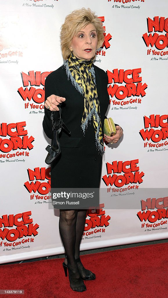 Concetta Tomei attends the 'Nice Work If You Can Get It' Broadway opening night at the Imperial Theatre on April 24, 2012 in New York City.