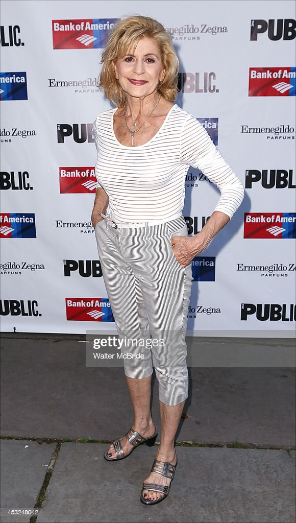Concetta Tomei attends the The Public Theatre's Opening Night Performance of 'King Lear' at the Delacorte Theatre on August 5, 2014 in New York City.