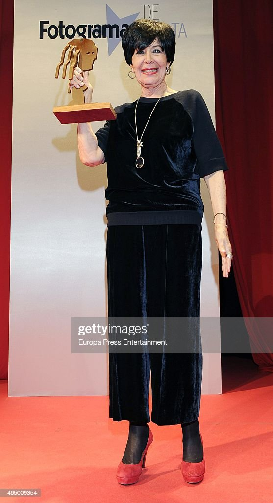 Concha Velasco attends the 'Fotogramas Awards' 2015 on March 2 2015 in Madrid Spain