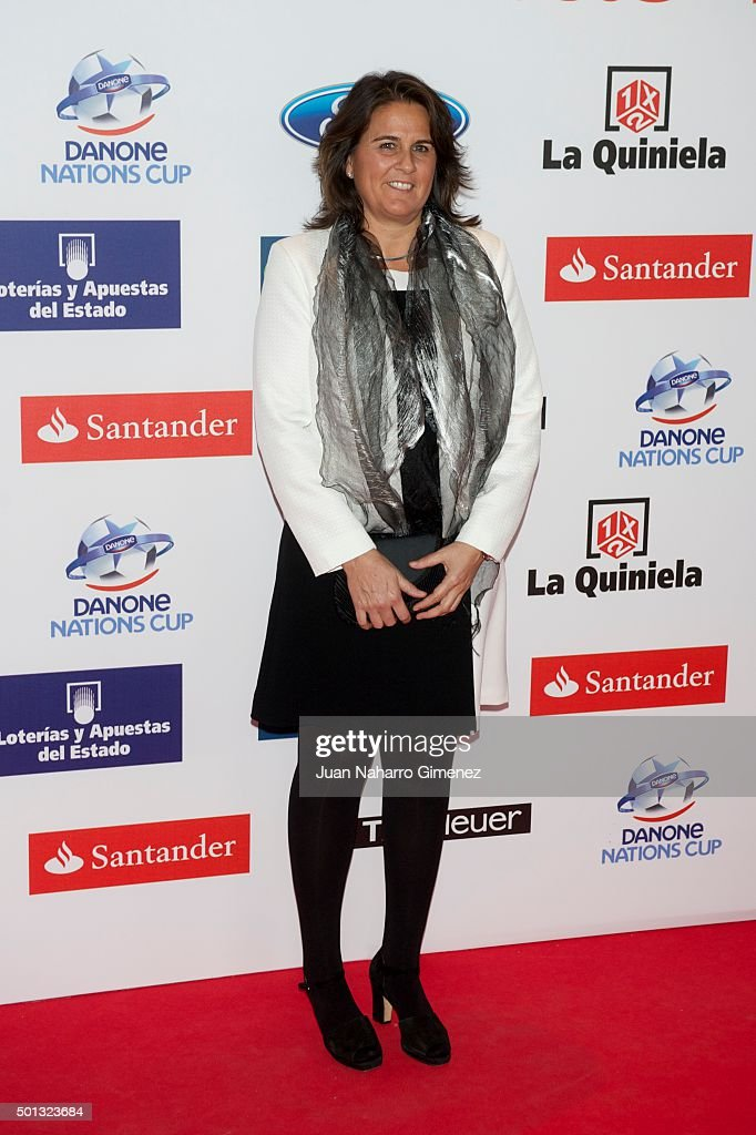 <a gi-track='captionPersonalityLinkClicked' href=/galleries/search?phrase=Conchita+Martinez&family=editorial&specificpeople=184563 ng-click='$event.stopPropagation()'>Conchita Martinez</a> attends 'As Del Deporte' awards 2015 photocall at Palace Hotel on December 14, 2015 in Madrid, Spain.