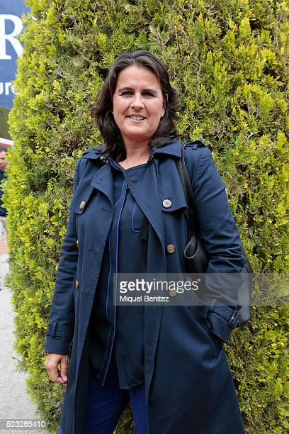 Conchita Martinez attends the Barcelona Open Banc Sabadell 64th Conde de Godo Trophy at Real Club de Tenis Barcelona on April 22 2016 in Barcelona...