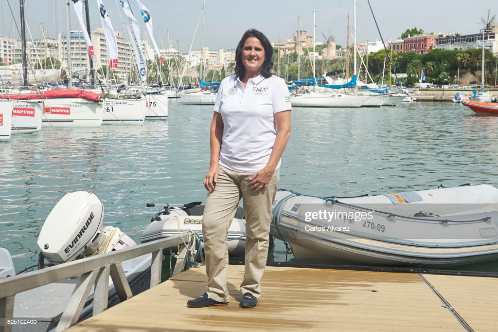 Conchita Martinez is seen during the 36th Copa Del Rey Mafre Sailing Cup on August 1, 2017 in Palma de Mallorca, Spain.