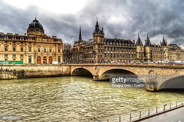 Conciergerie Royal Palace And Prison On Bank Of Seine River