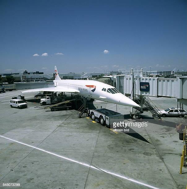 Concorde der British Airways ohne Jahr