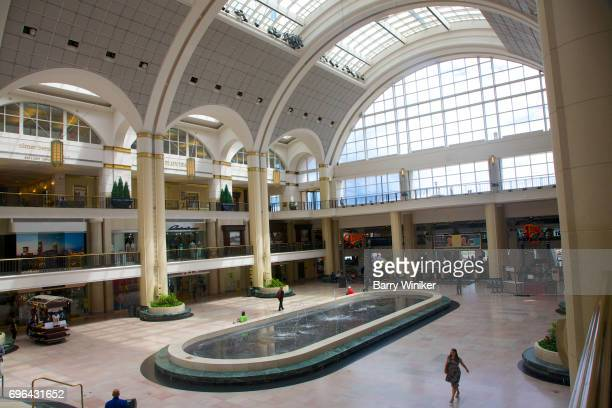 Concourse with reflecting pool at Tower City, Cleveland