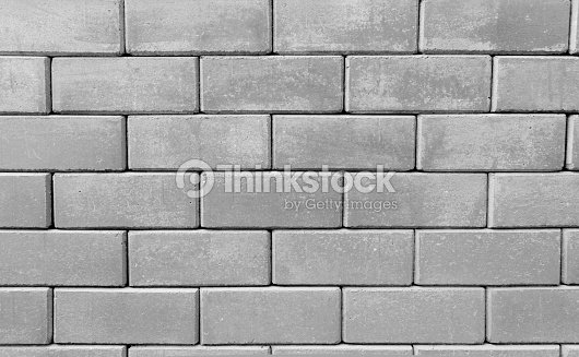 Bloque de hormig n pared foto de stock thinkstock - Paredes de bloques de hormigon ...