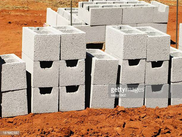 Concrete Blocks New Construction