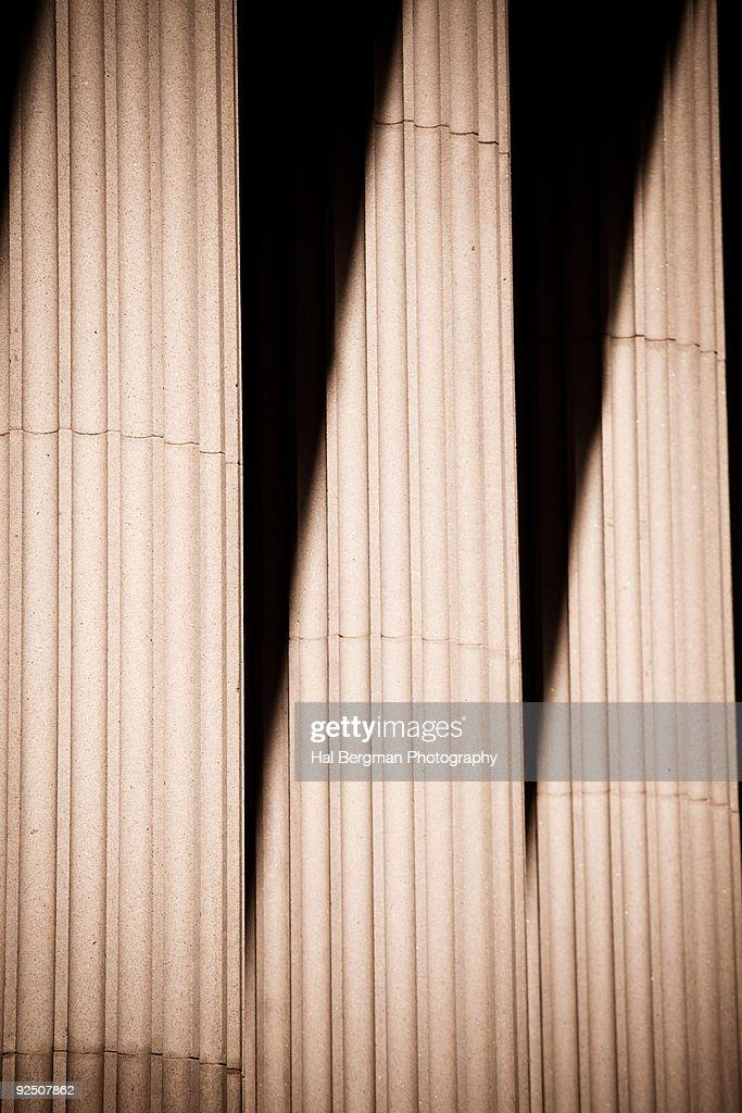 Concrete Columns in the Financial District