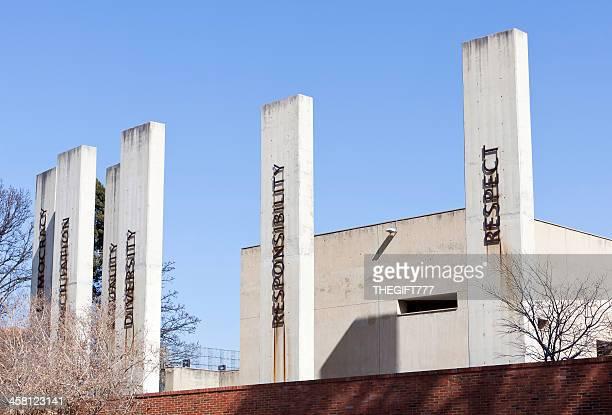 Beton Säulen des Apartheid-Museum