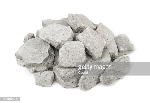 Concrete rubble : Stock Photo