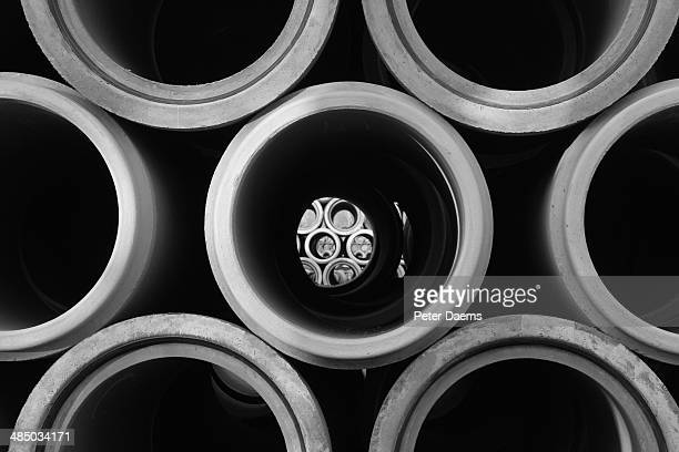 Concrete sewer pipes