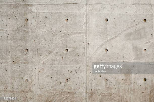 Concrete wall, architectural photo