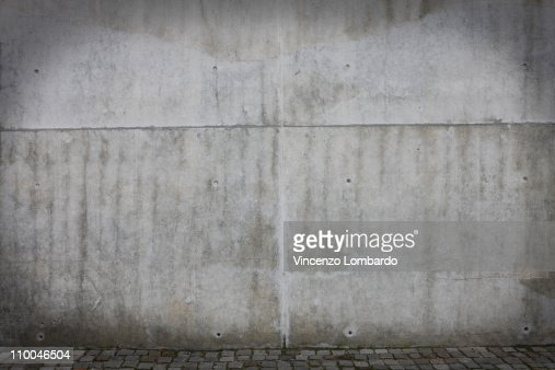 Concrete Wall : Photo