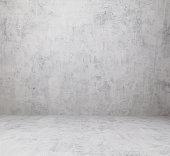 concrete wall texture lit up