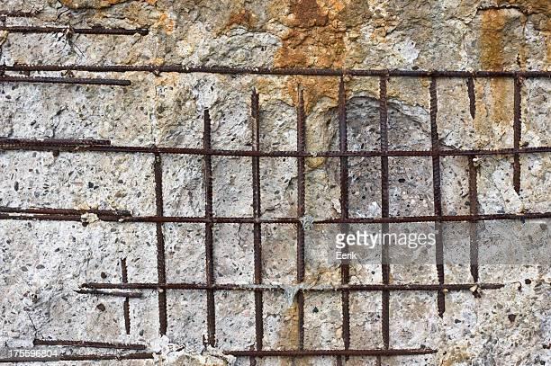 Parete di cemento trama