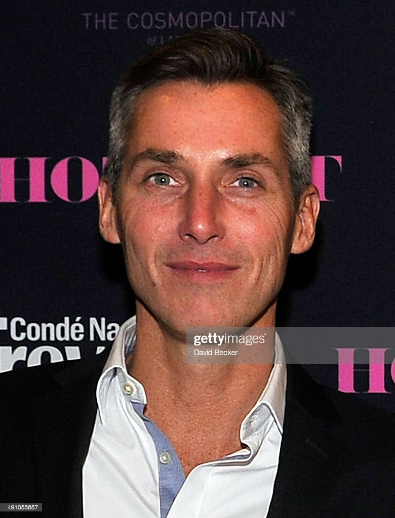 Conde Nast Traveler Executive Vice President and Publishing Director Bill Wackermann arrives at the Conde Nast Traveler's 18th annual Hot List party...