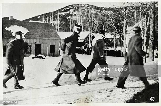 Condition of Norse King Reported Deteriorating Oslo Norway At left above is a photo of King Haakon VIII of Norway 85 years old who is gravely ill in...