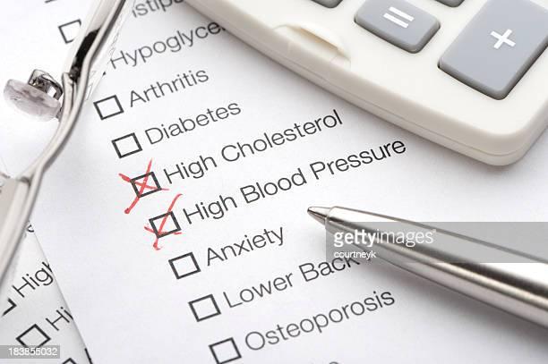 Conditions sur un test médical