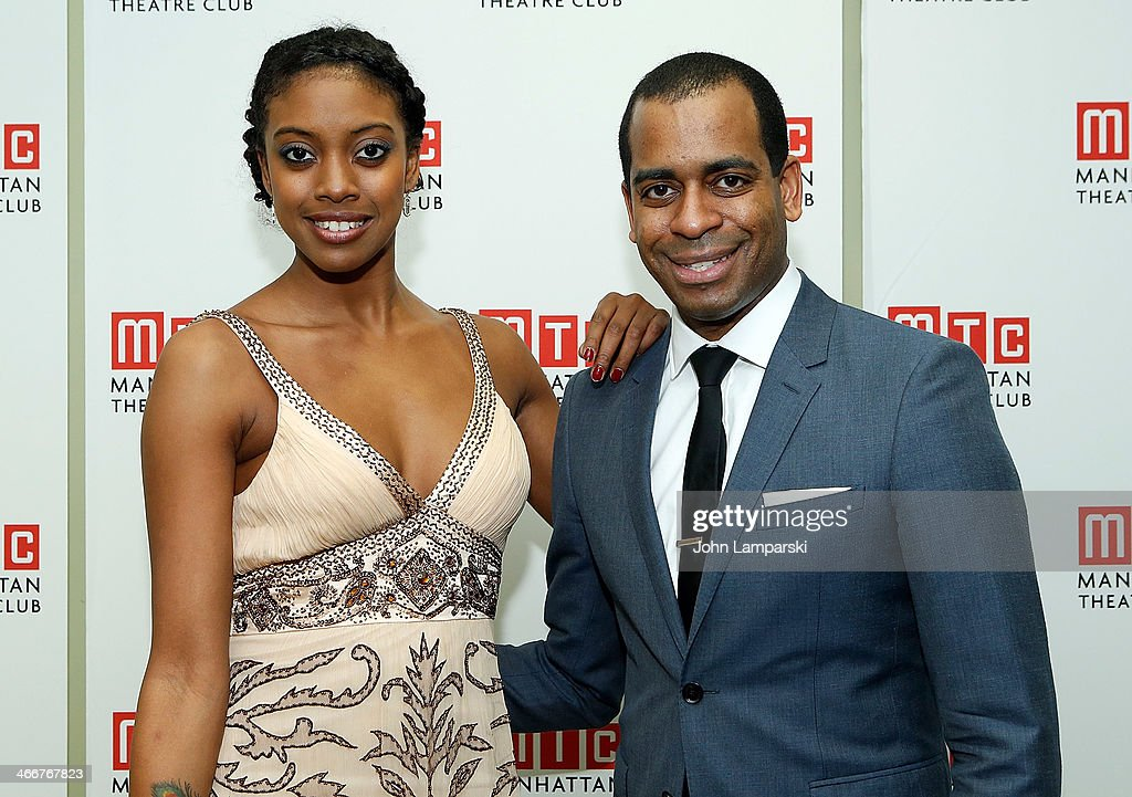 Condola Rashad and <a gi-track='captionPersonalityLinkClicked' href=/galleries/search?phrase=Daniel+Breaker&family=editorial&specificpeople=712417 ng-click='$event.stopPropagation()'>Daniel Breaker</a> attend Manhattan Theatre Club's 2014 Winter Benefit at Manhattan Theater Club on February 3, 2014 in New York City.