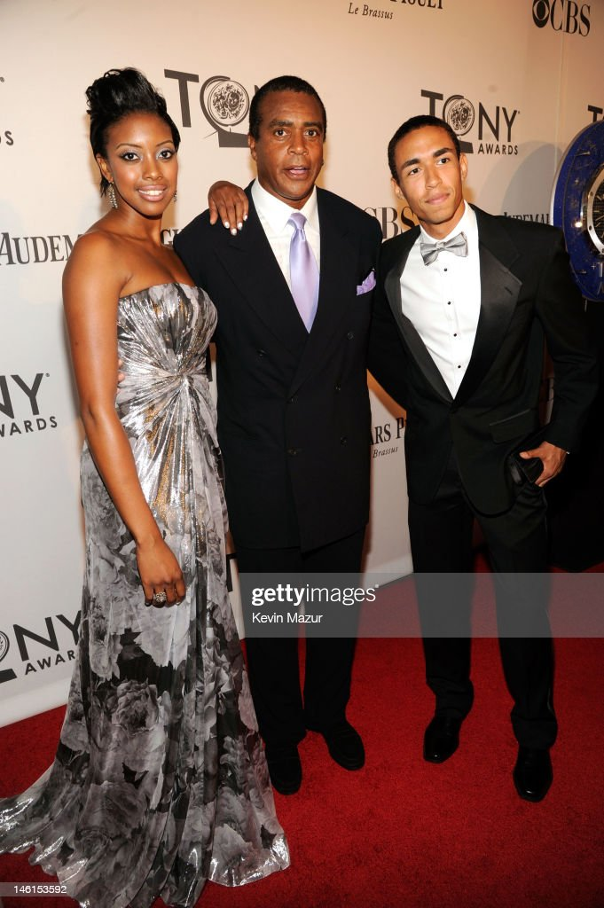 Condola Rashad and guests attend the 66th Annual Tony Awards at The Beacon Theatre on June 10, 2012 in New York City.
