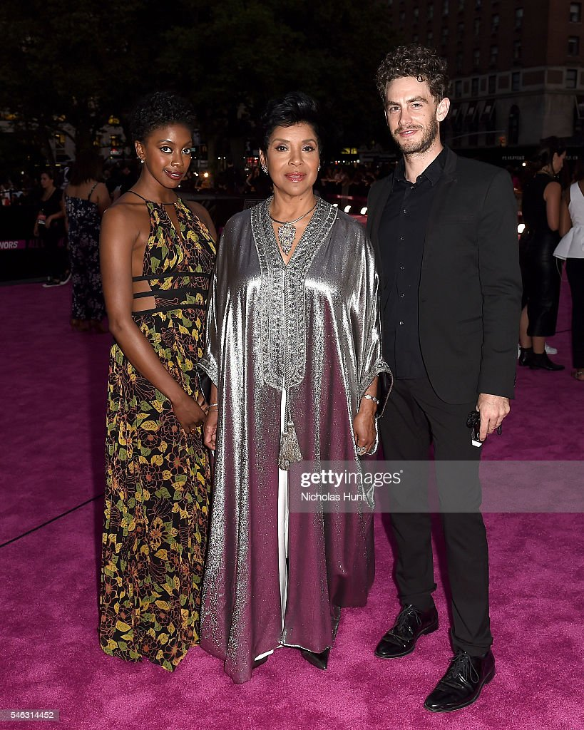Condola Rashad and Phylicia Rashad attend the VH1 Hip Hop Honors All Hail The Queens at David Geffen Hall on July 11 2016 in New York City