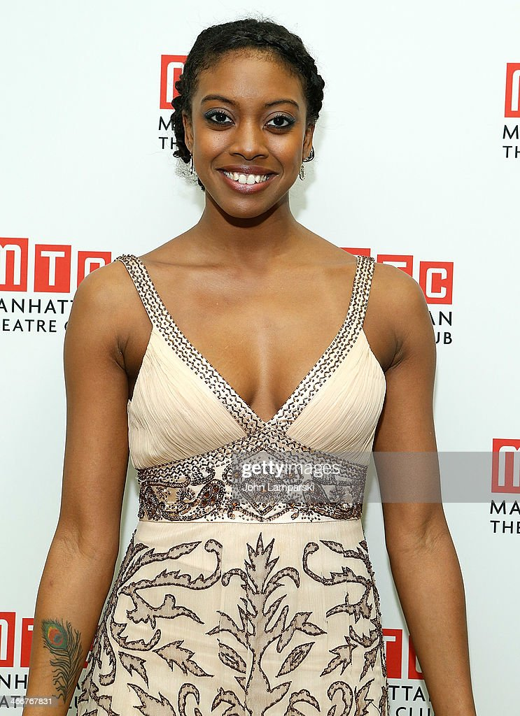 Condola Rashad attends Manhattan Theatre Club's 2014 Winter Benefit at Manhattan Theater Club on February 3, 2014 in New York City.
