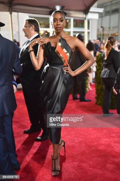 Condola Rashad attends the 2017 Tony Awards at Radio City Music Hall on June 11 2017 in New York City