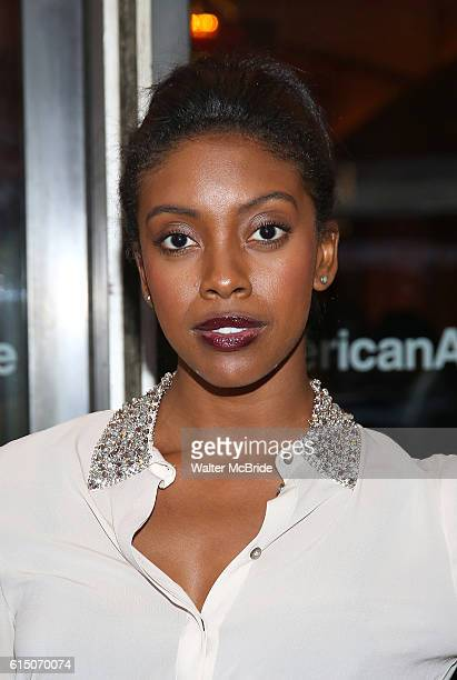 Condola Rashad attends the Broadway Opening Night performance of 'The Cherry Orchard' at the American Airlines Theatre on October 16 2016 in New York...